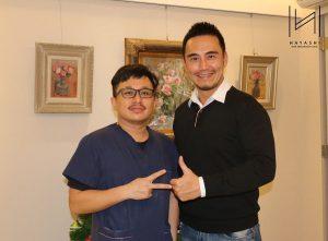 植眉手術後11個月與林俊志醫師合照